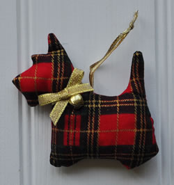 Tartan Scotty Dog